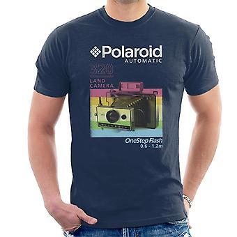 Polaroid 320 Land Camera Miesten's T-paita
