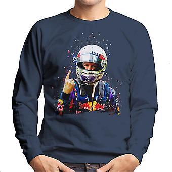 Motorsport Images Sebastian Vettel Interlagos 2013 Men's Sweatshirt