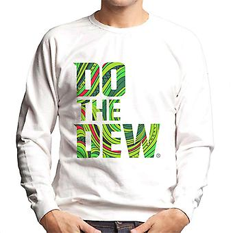 Mountain Dew Do The Dew Slogan Men's Sweatshirt