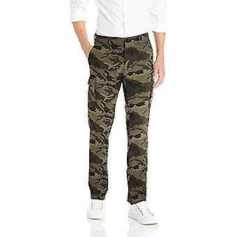 Goodthreads Men's Straight-Fit Ripstop Cargo Pant, -camo, 38W x 28L