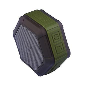 Waterproof and compact speaker, IP67-Green