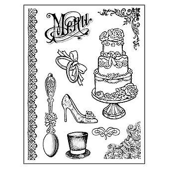 ختم المطاط الطبيعي الزفاف (WTKCC102)