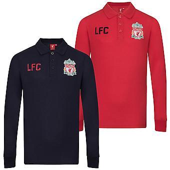ליברפול FC בנים פולו חולצה שרוול ארוך ילדים רשמיים כדורגל מתנה