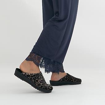 Rohde 2294 Ladies Slip On Mule Slippers Natural