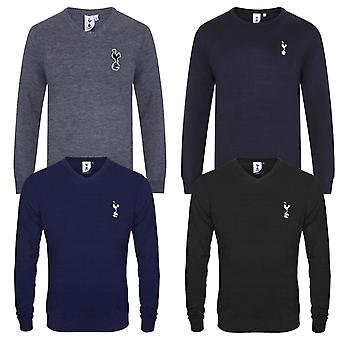 Tottenham Hotspur FC Official Football Gift Mens Crest Knitted Jumper