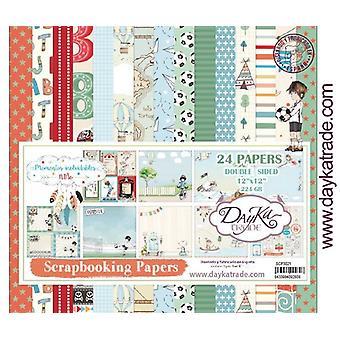 DayKa Trade Momentos inolvidable Niño 12x12 Inch Paper Pack