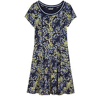 Sandwich Clothing Navy Floral Print Jersey Dress