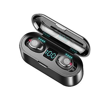 Hd stereo vanntette sportshodetelefoner