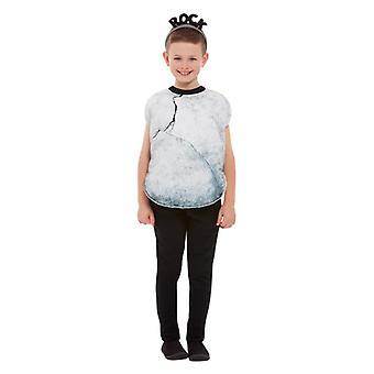 Disfraces de vestido de fantasía de la roca de los niños