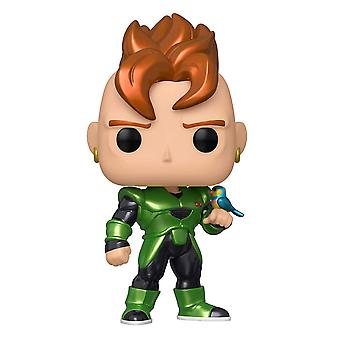 Dragon Ball Z Android 16 Metallic Pop! Vinyl