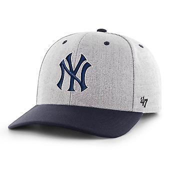 47 Brand Snapback Cap - STORM CLOUD New York Yankees
