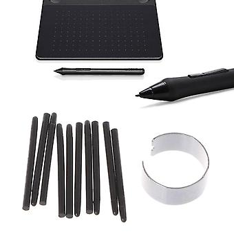 10 Pcs Graphic Drawing Pad, Standard Pen Nibs Stylus Pour Wacom