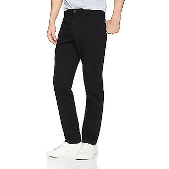 Goodthreads Men's Slim-Fit 5-Pocket Chino Pant, Sort, 30W x 28L