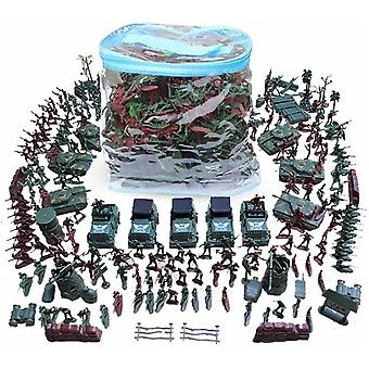 Plastic Soldier Weapons Tank Kits World War Ii Model Military Sand Table