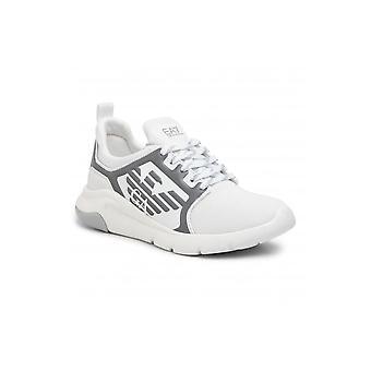 EA7 by Emporio Armani White/silver Sneaker Trainer