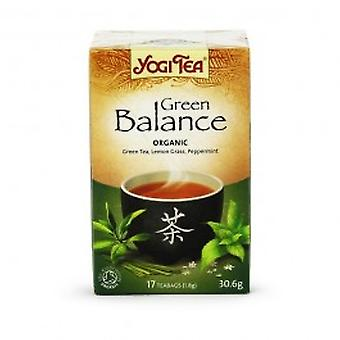 Yogi Tea - Green Balance Tea 17 Bags