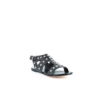 Isa Tapia | Geri Studded Flat Sandals