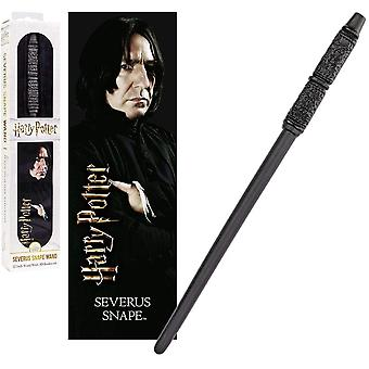 Noble Collection PVC Severus Snape Magic Wand & Bookmark Set