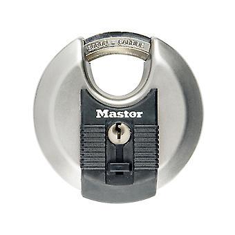 Master Lock Excell Roestvrijstalen Discus 80mm Padlock MLKM50