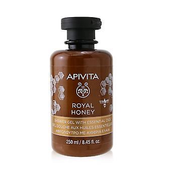 Royal Honey Shower Gel With Essential Oils - 250ml/8.45oz