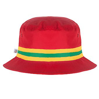 fan originals Bucket Hat - Red Yellow Green Wales Colours