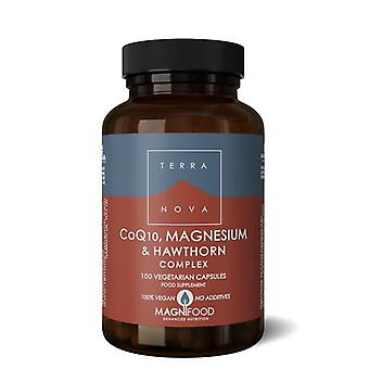 Terranova CoQ-10, Magnesium & Hawthorn Complex Vegicaps 100 (T1858)