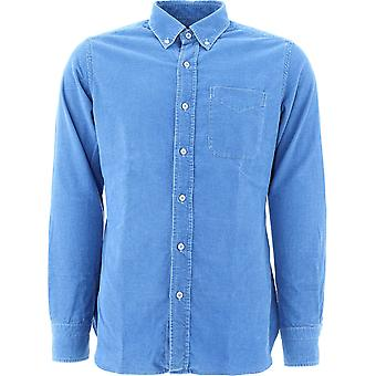 Tom Ford 8ft42594utanb05 Men's Light Blue Cotton Shirt