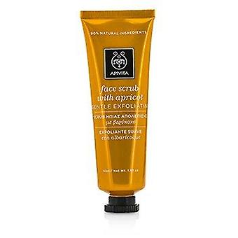 Face Scrub with Apricot - Gentle Exfoliating 50ml or 1.83oz