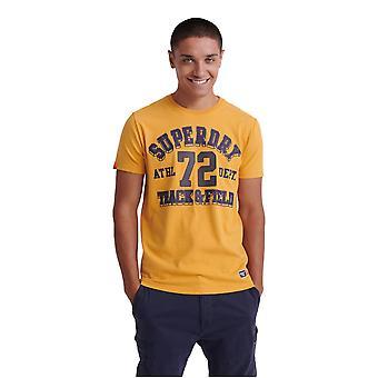 Superdry Track & Field T-Shirt - Golden Yellow