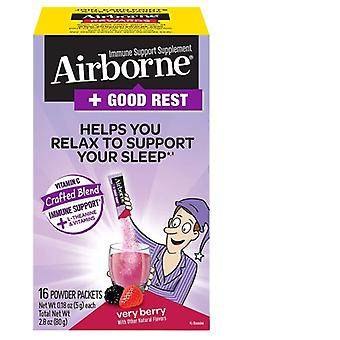 Airborne Good Rest Powder, Berry 30 Count