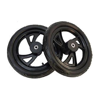Alwaysme 2pcs-pack 12 Inch Soild Geen platte wielen met dragende child balance