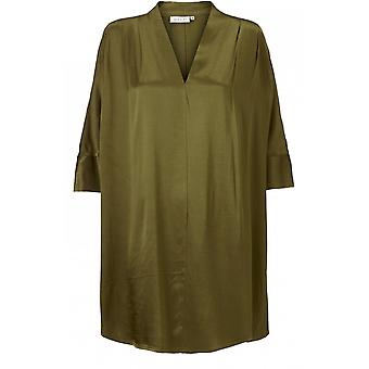 Masai Clothing Goritta Green Silky Tunic