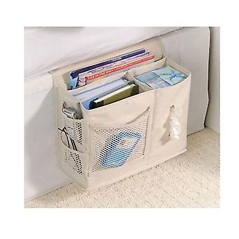 Multifunctional Bedside Hanging Storage Bag, Hang Sundries ,magazines, Remote