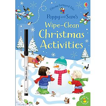 Poppy and Sam's Little Wipe-Clean Christmas Activities