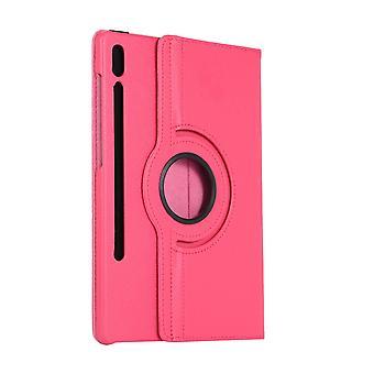 Pyörivä folionahkakotelo Samsung Galaxy Tab S6 10.5 T860 / T865 Punainen ruusu