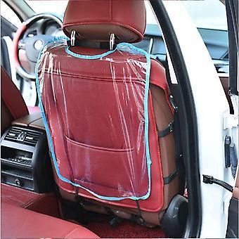 Baby Anti-kick Pad Siège d'auto Siège d'auto Back Cover Protective Wear Transparent