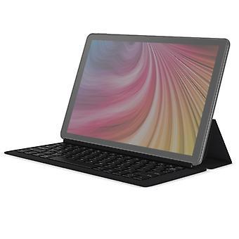 CHUWI Hi9 Plus LTE (Siyah) için Manyetik Emiş Klavyeli 2'si 1 Arada Yatay Flip Katlanabilir Deri Kılıf