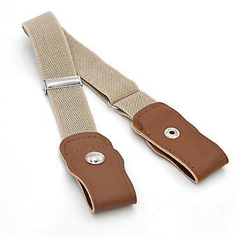 20 Estilos Sin Hebilla Elástico Cinturón cintura/hombres