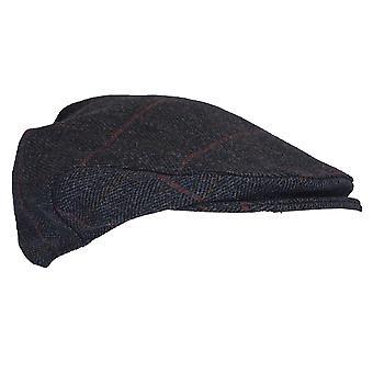 Walker e Hawkes - Uni -Sex Country Tweed Flat Cap