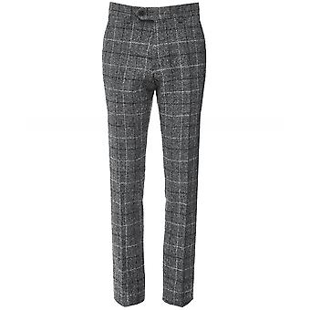 Walker Slater Wool Check Bernard Trousers