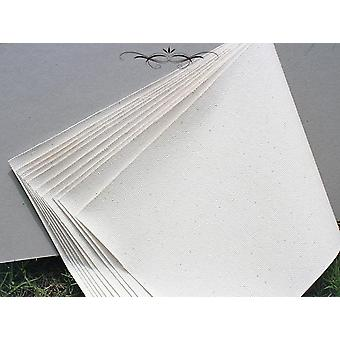 Canvas Pads Paper,blank Canvas Book Cotton Fine Texture Oil Painting Canvas Pad