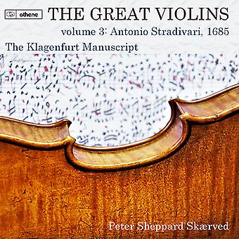 Great Violins 3 [CD] USA import