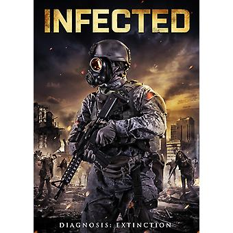 Infected [DVD] USA import