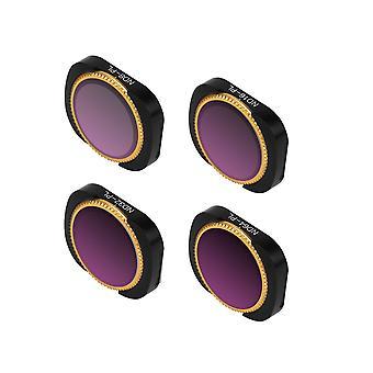 Adjustable Filter Optical Glass Camera Lens Filter ND-PL ND8-PL+ND16-PL+ND32-PL+ND64-PL Set Yellow Black