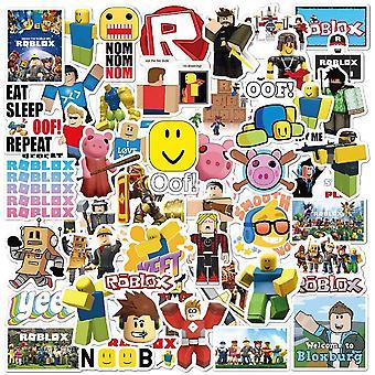 50st Roblox Gadget Stickers Klistermärken Återanvändbara Vinyl