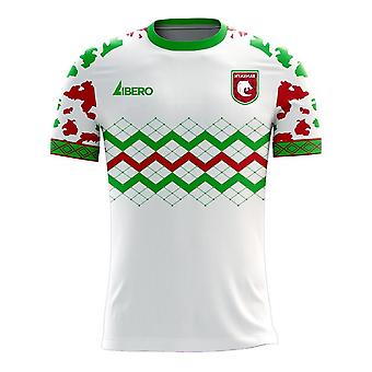 Myanmar 2020-2021 Home Concept Football Kit (Libero)