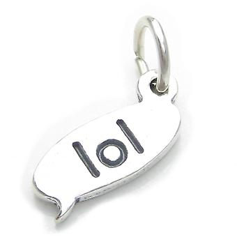 Lol Laugh Out Loud Text Chat Sterling Silver Charm .925 X 1 Sms Charms - 4342