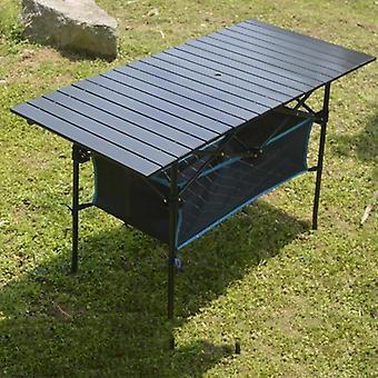 Opvouwbare tafel kraam draagbare outdoor home eenvoudige eetkamerstoel klein aluminium
