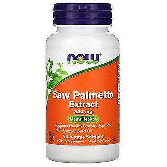 Now Foods, Saw Palmetto Extract, Men's Health, 320 mg, 90 Veggie Softgels