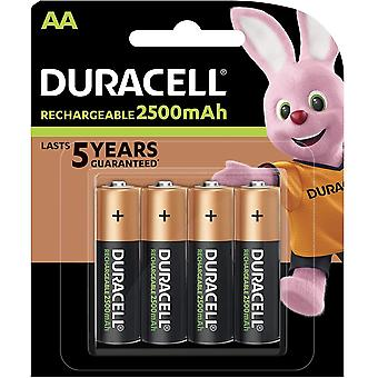 AA 2500mAh Recharge Ultra Rechargeable Batteries - Pack of 4